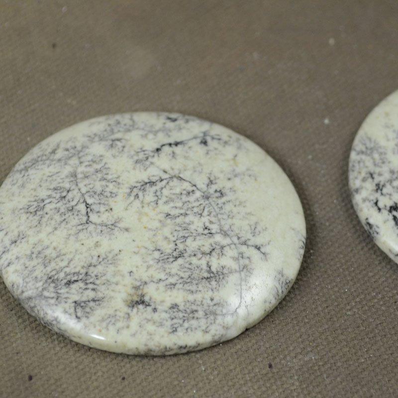 s37346 Stone Cabochon - 50 mm Round Cabochon - Artistic Jasper (1)