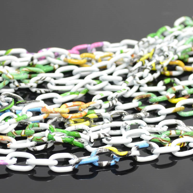 s37621 Chain -  Oval Links - Its a Party (foot)