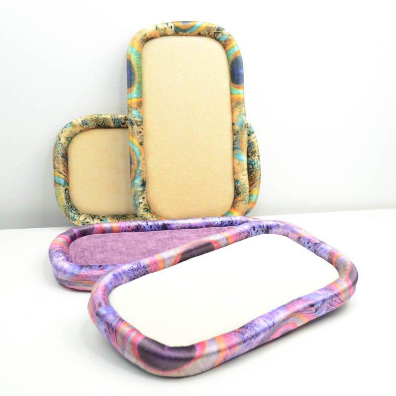 s38232 Design Tools - 6 x 11 inches Bead on it Board - Luxury Velvet/Chenille