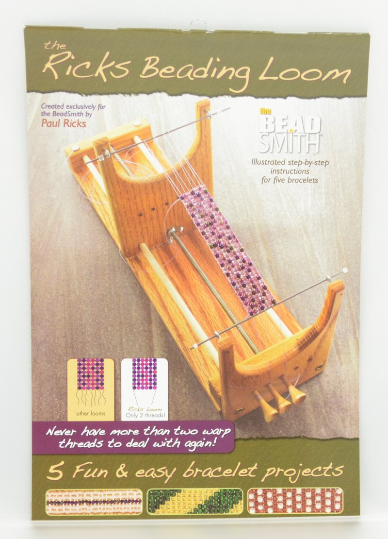 s38788 Book -  The Ricks Beading Loom - By Paul Rick
