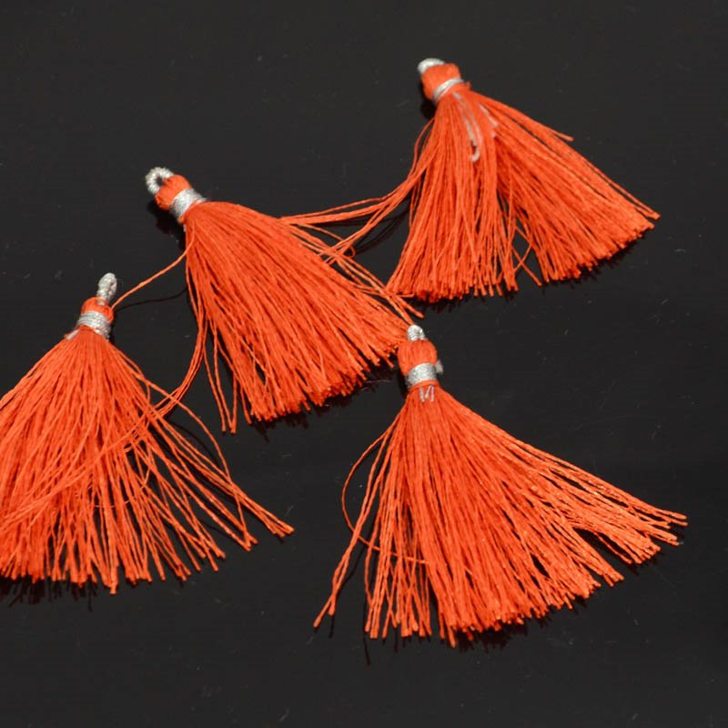 s39739 Components -  Tassels - Mandarin Orange (1)