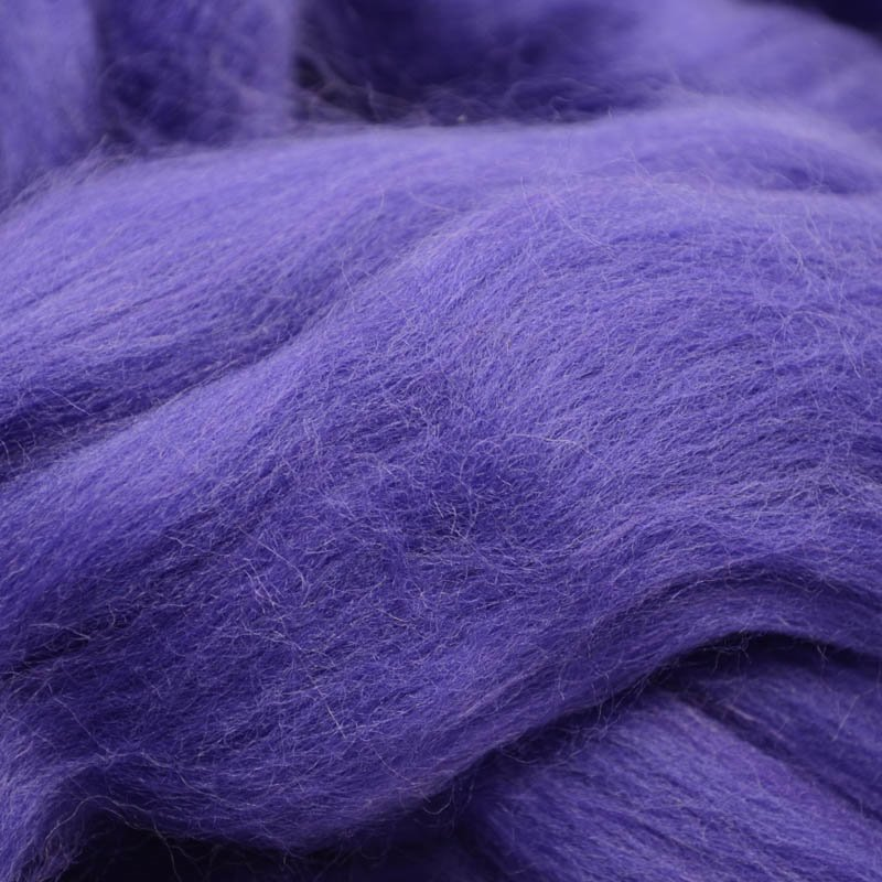 s40060 Felting Supplies -  Merino Roving - Tanzanite