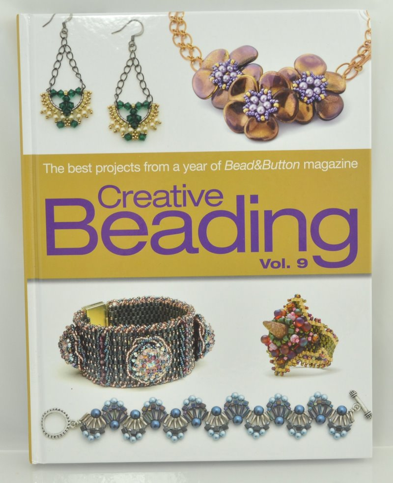 s40922 Book - Bead and Button Books -  Creative Beading - Vol 9