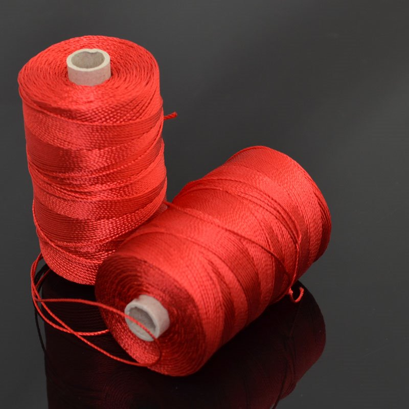 s41947 Cord - 5 Wt Rayon - Poppy Red (Spool)