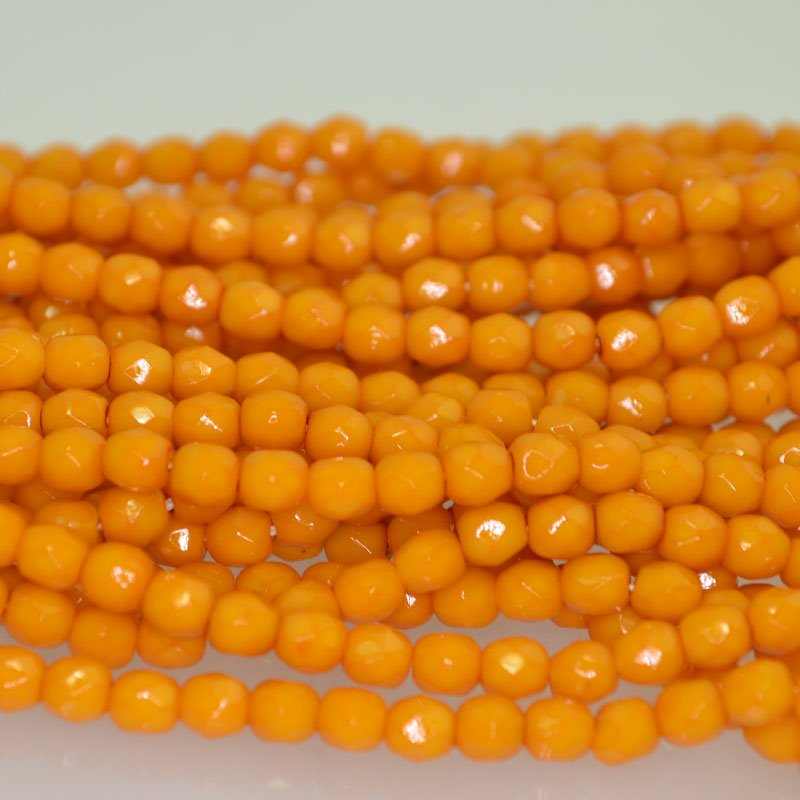 s41979 Firepolish - 4 mm Faceted Round - Squash (50)