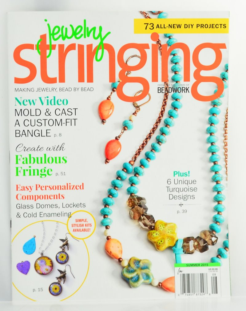 s42388 Magazine - Beadwork Special -  Jewelry Stringing - Summer 2015
