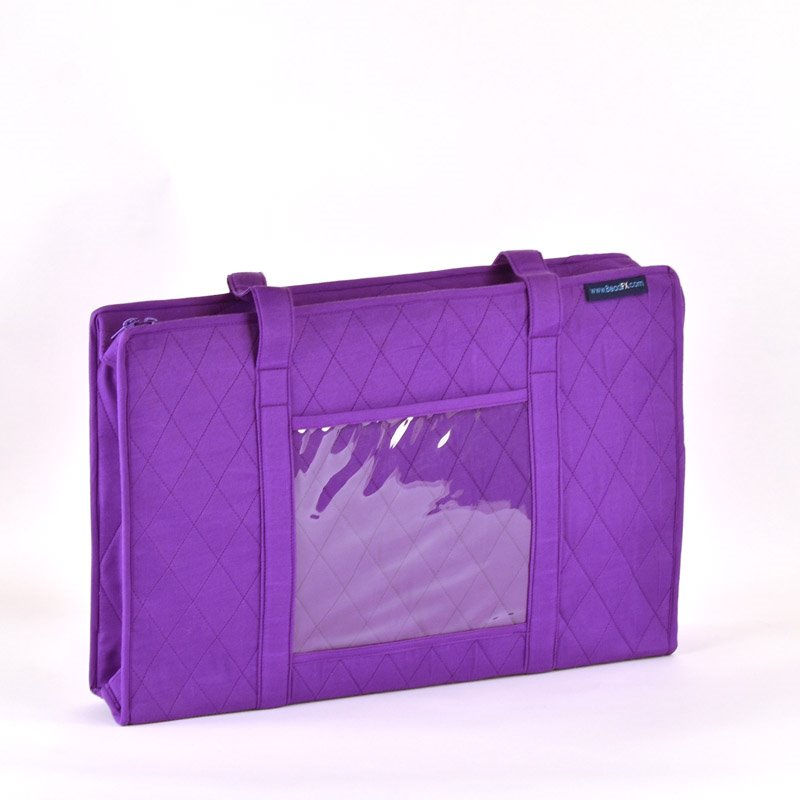 s43118 Carry Bags by Yazzi -  for BeadFX - Aubergine
