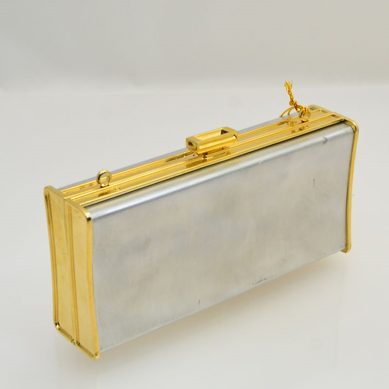 s43700 One of a Kind -  Minaudiere Clutch Blank - Rectangular