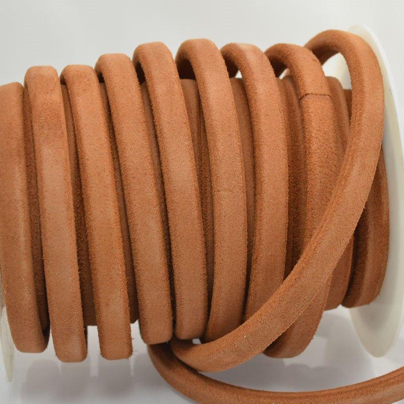 s44017 Leather -  Suede Regaliz - Tan Saddle (Inch)