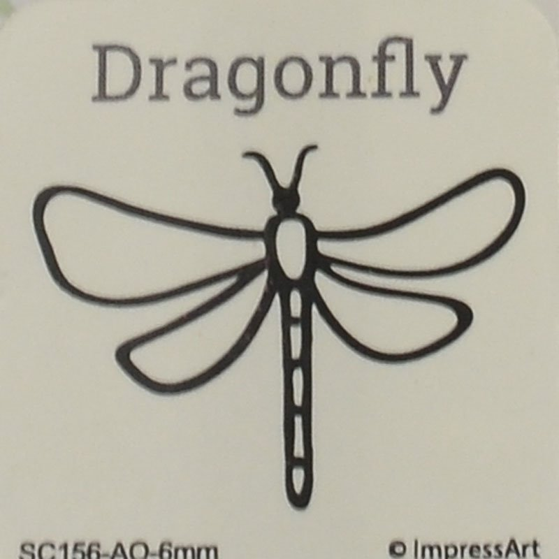 s44151 ImpressArt Stamps - 6 mm Design Stamp/Punch - Dragonfly (1)