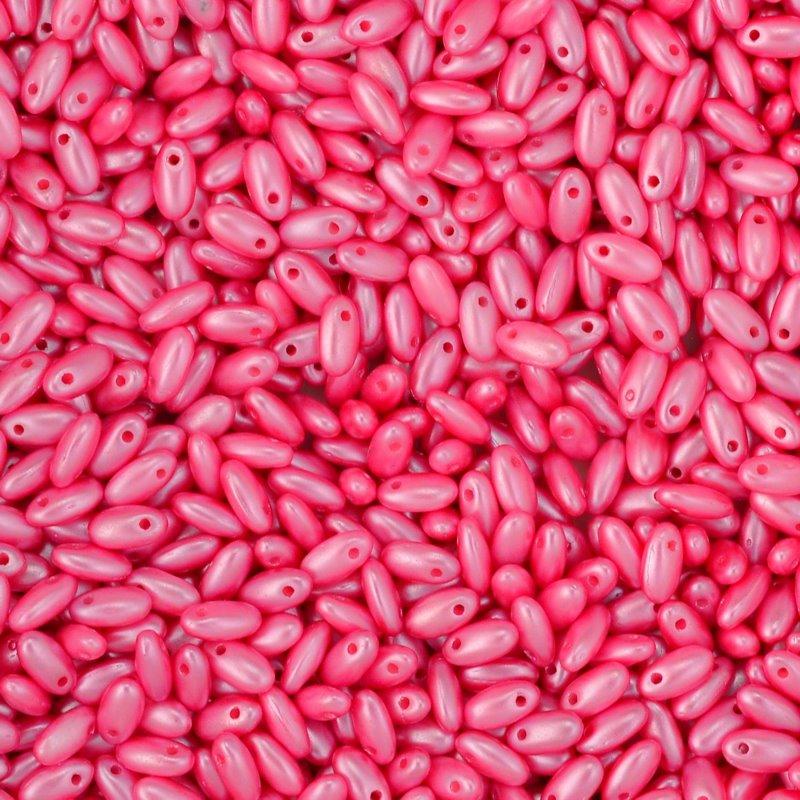 s45055 Czech Seedbeads -  Rizos - Pastel Pink
