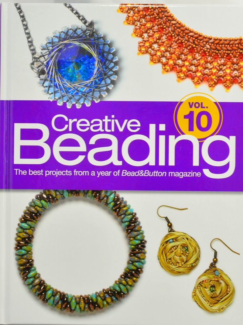 s45699 Book - Bead and Button Books -  Creative Beading - Vol 10