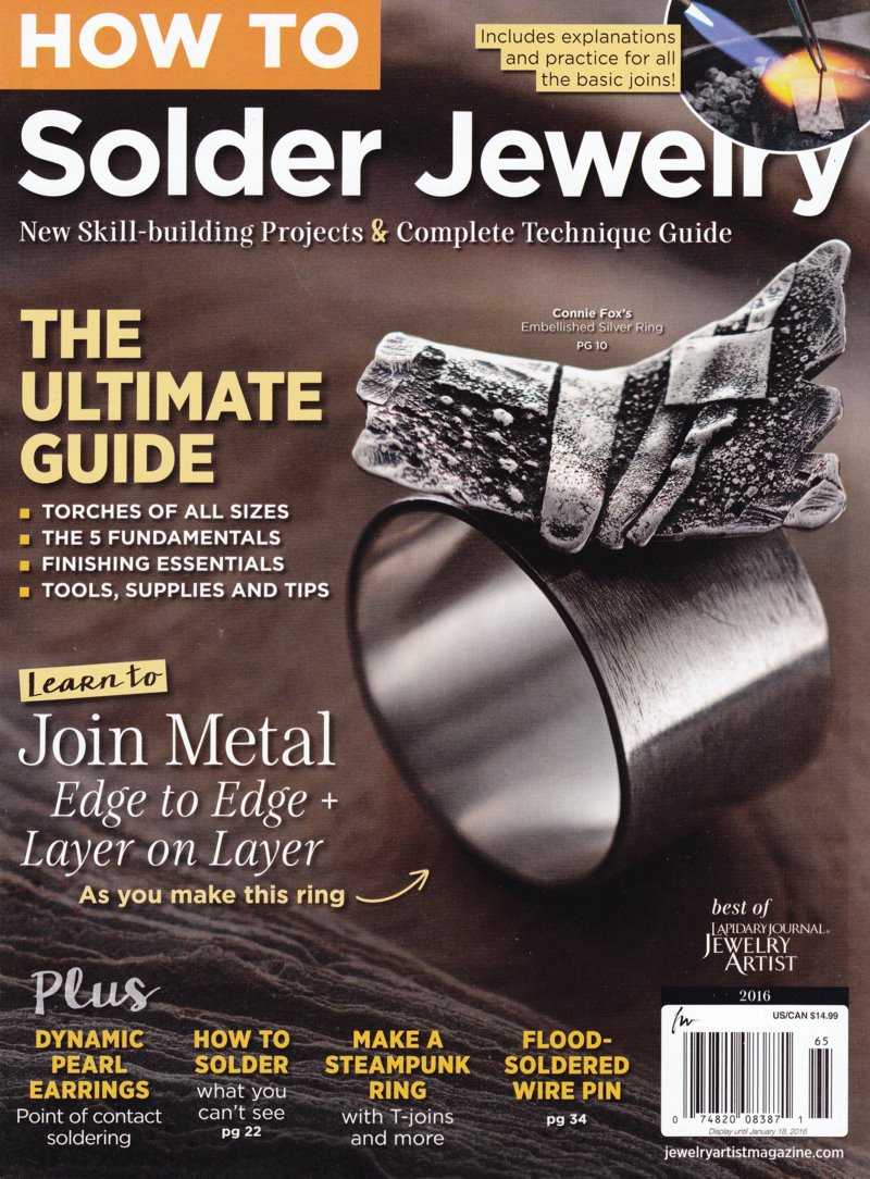 s47247 Magazine - Jewelry Artist Special -  How To - Solder Jewelry