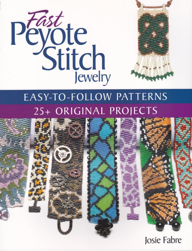 s47747 Book -  Fast Peyote Stitch Jewelry - By Josie Fabre