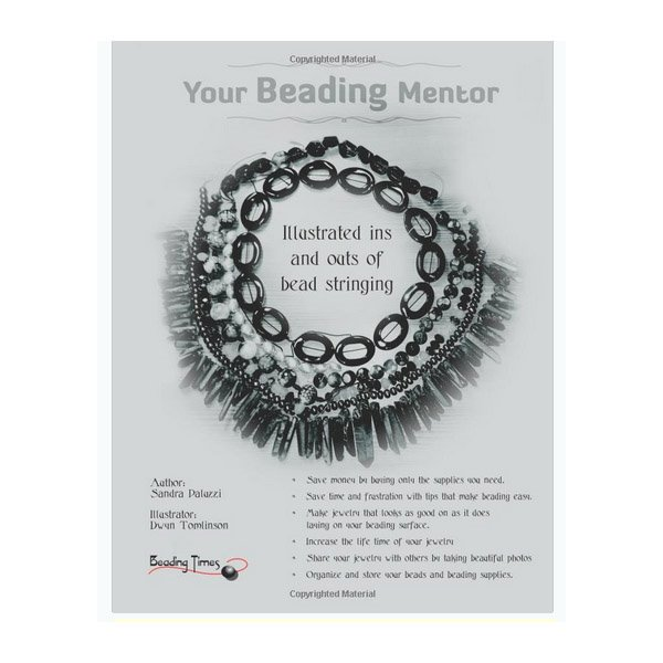 s55481 Book - Your Beading Mentor - by Sandra Paluzzi