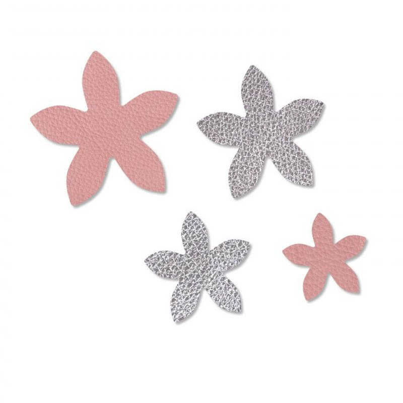 s55897 Sizzix - Movers & Shapers Magnetic Die - Star Jasmine Set