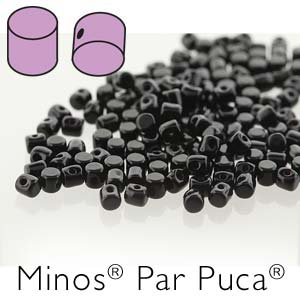 s56251 Czech Shaped Beads - Minos par Puca - Jet
