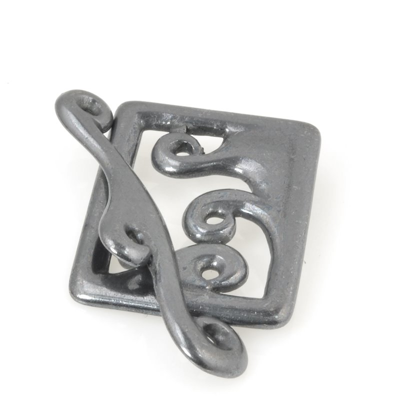 s56467 Findings - Clasp - Toggle - Framed Waves - Gunmetal