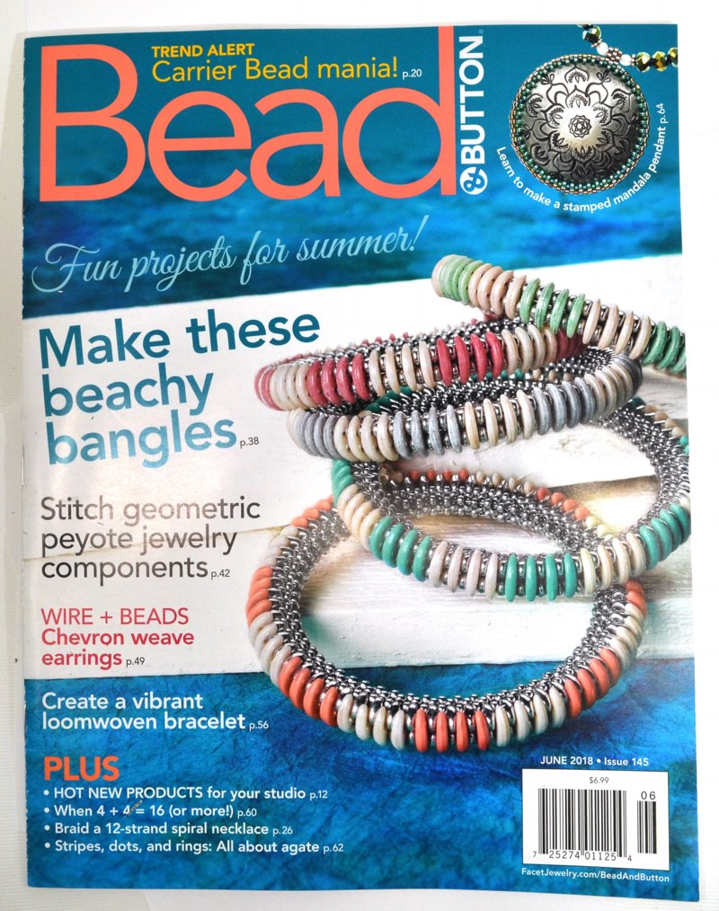 s57152 Magazine - Bead and Button - 2018 - June