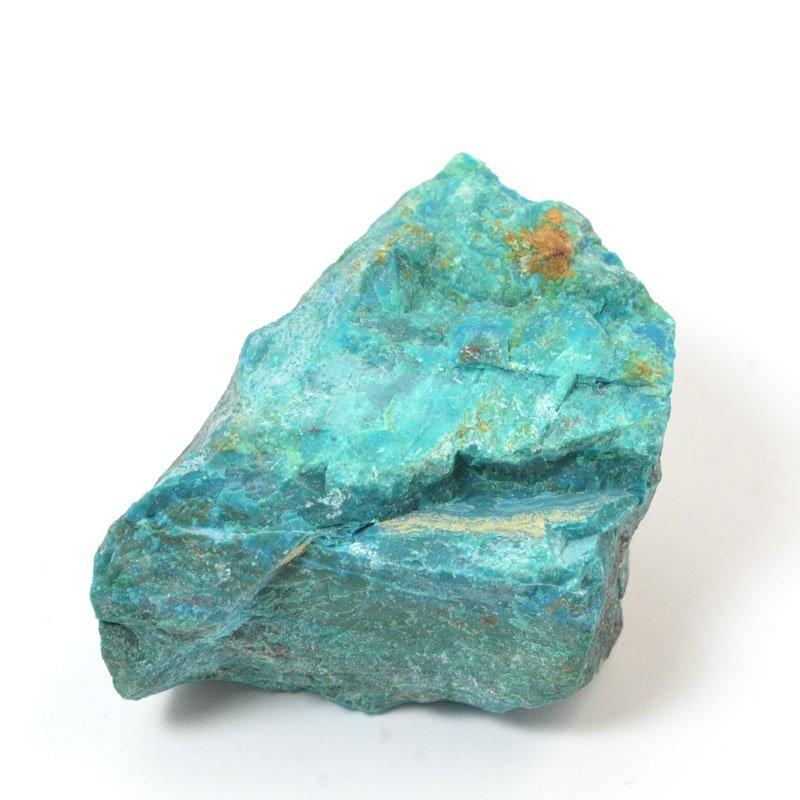 s57241 Stone - OOAK - Rough Chunk - Peruvian Chrysocolla