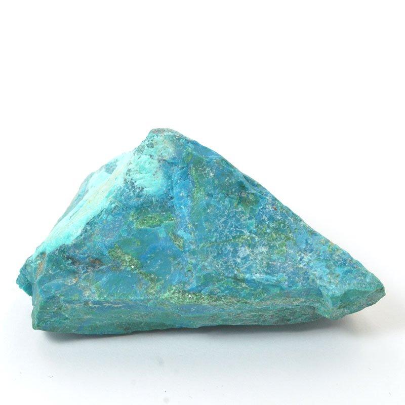 s57243 Stone - OOAK - Rough Chunk - Peruvian Chrysocolla