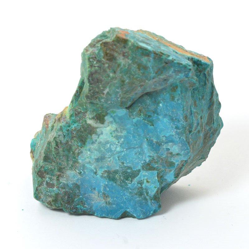 s57244 Stone - OOAK - Rough Chunk - Peruvian Chrysocolla