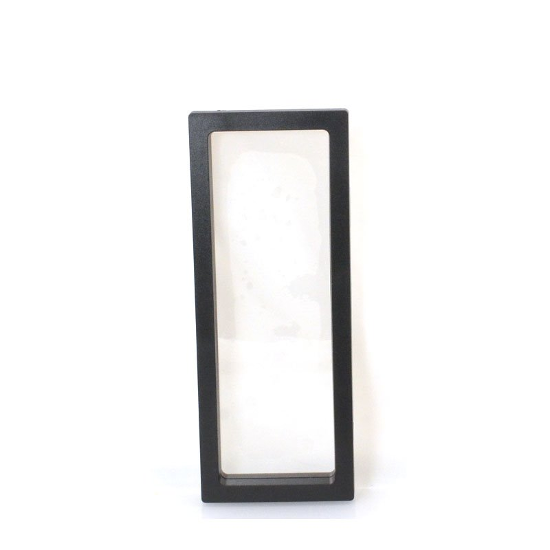s57262 Display Stands - Tall/Wide Floating Display Box Frame - Black