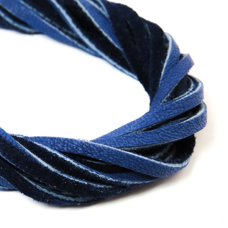 s59047 Leather - 3 mm Leather Strip - Cobalt