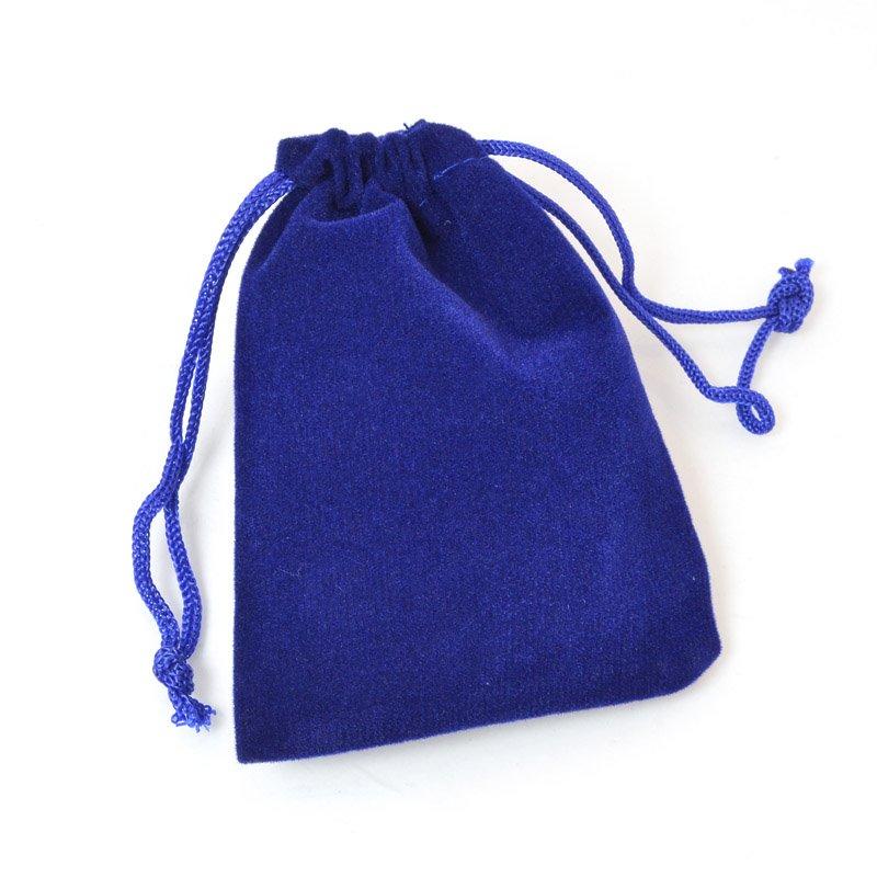 s60538 Packaging - 3 inch Velvet Gift Bag - Royal Blue (10)
