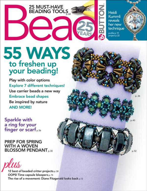 s60576 Magazine - Bead and Button -  2019 - February