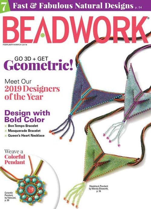 s60591 Magazine - Beadwork -  2019 - February - March