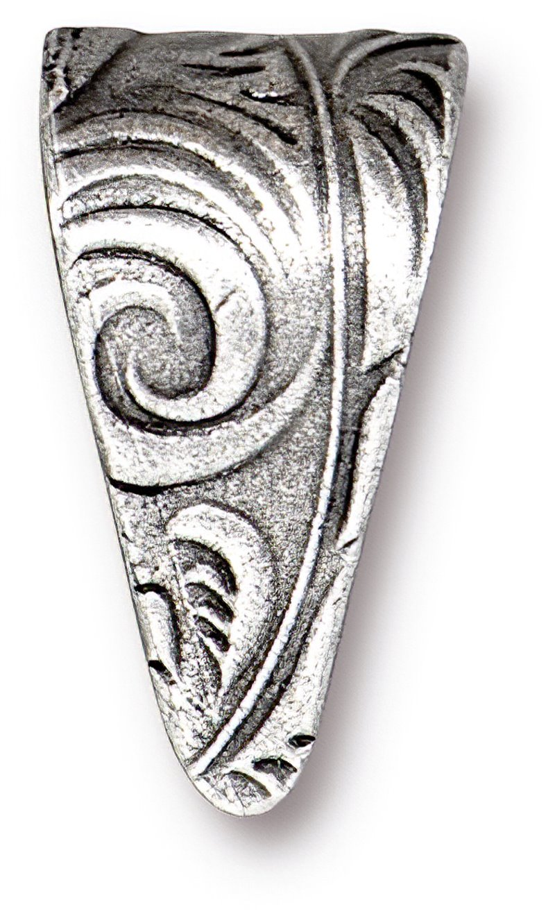 s62622 Findings - Pinch Bail - Large Jardin - Antiqued Silver