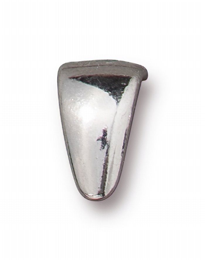 s62628 Findings - Bail -  Smooth Pinch Bail - Bright Rhodium