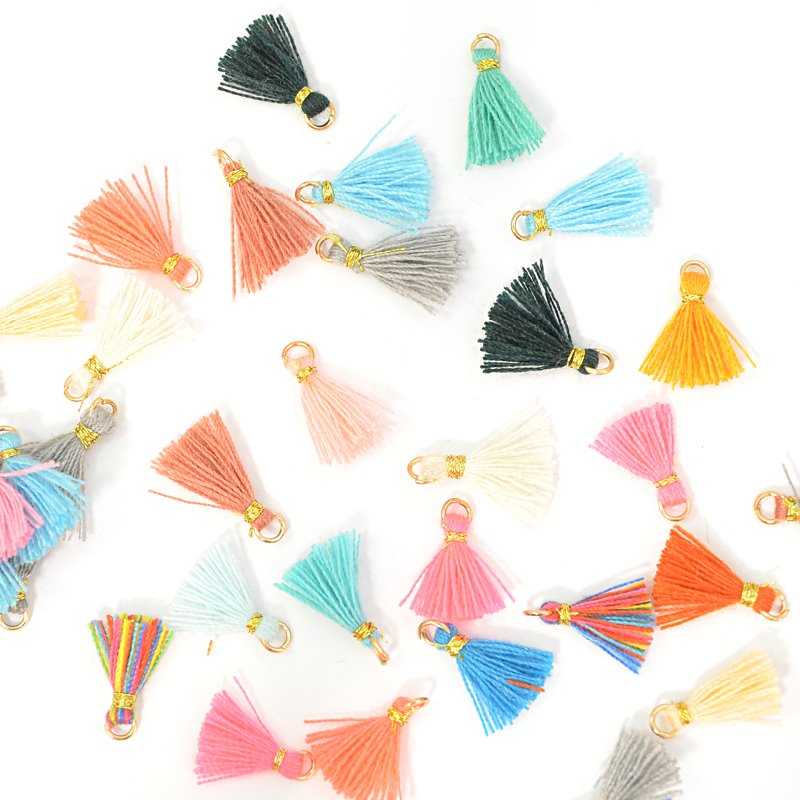 s62665 Components -  Mini Tassels - Assorted (20)