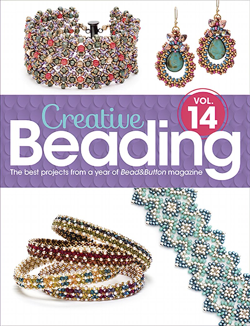 s62770 Book - Bead and Button Books -  Creative Beading - Vol 14