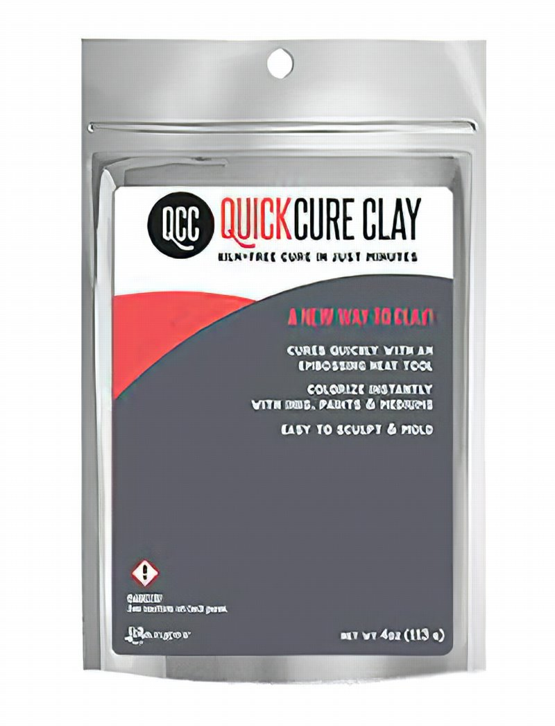 s62877 Ranger - 4oz QuickCure Clay - Natural White (Pack)