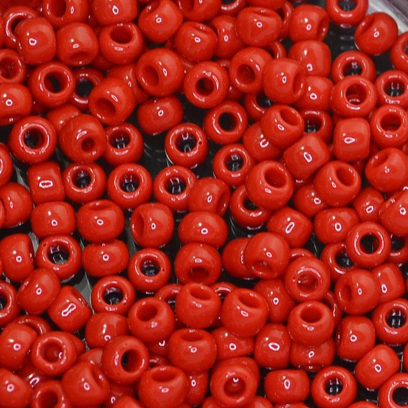 tb6r0045 Japanese Seedbeads - 6/0 Toho Seedbeads - Pepper Red