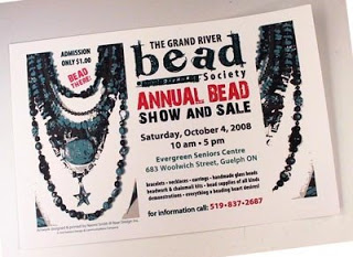 The Grand River Bead Society Annual Bead Show and Sale