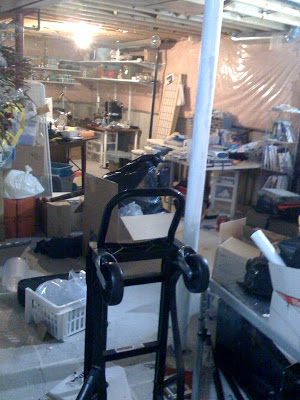 Basement Craft Room Project – Making progress