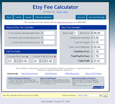 Etsy and Paypal – and their associated fees! – Etsy Part 2
