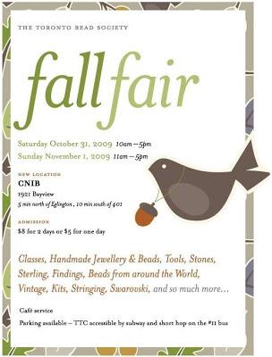 Fall Bead Fair