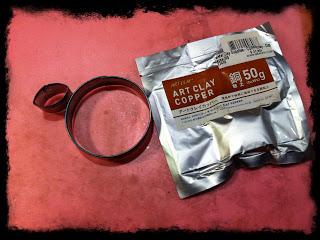 The Joy Of Metal Clay: Copper Poppy Brooch