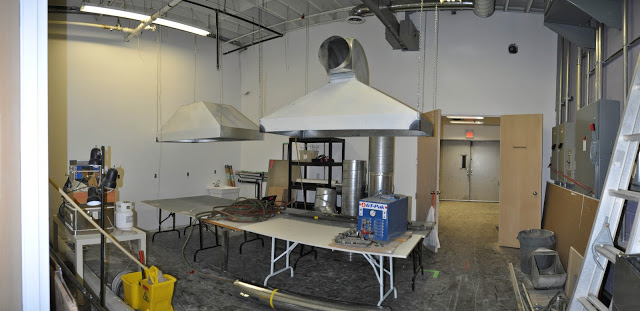 Lampwork Studio Progress