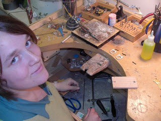 Join us for a class with metalwork artist Robyn Cornelius