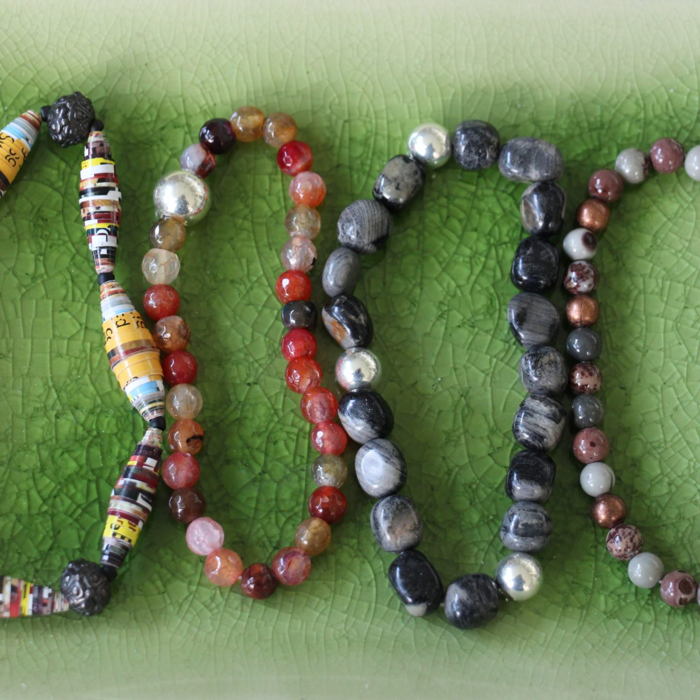 Stretchy bracelets and other fun stuff! Calm the creative mind with a little exploring!