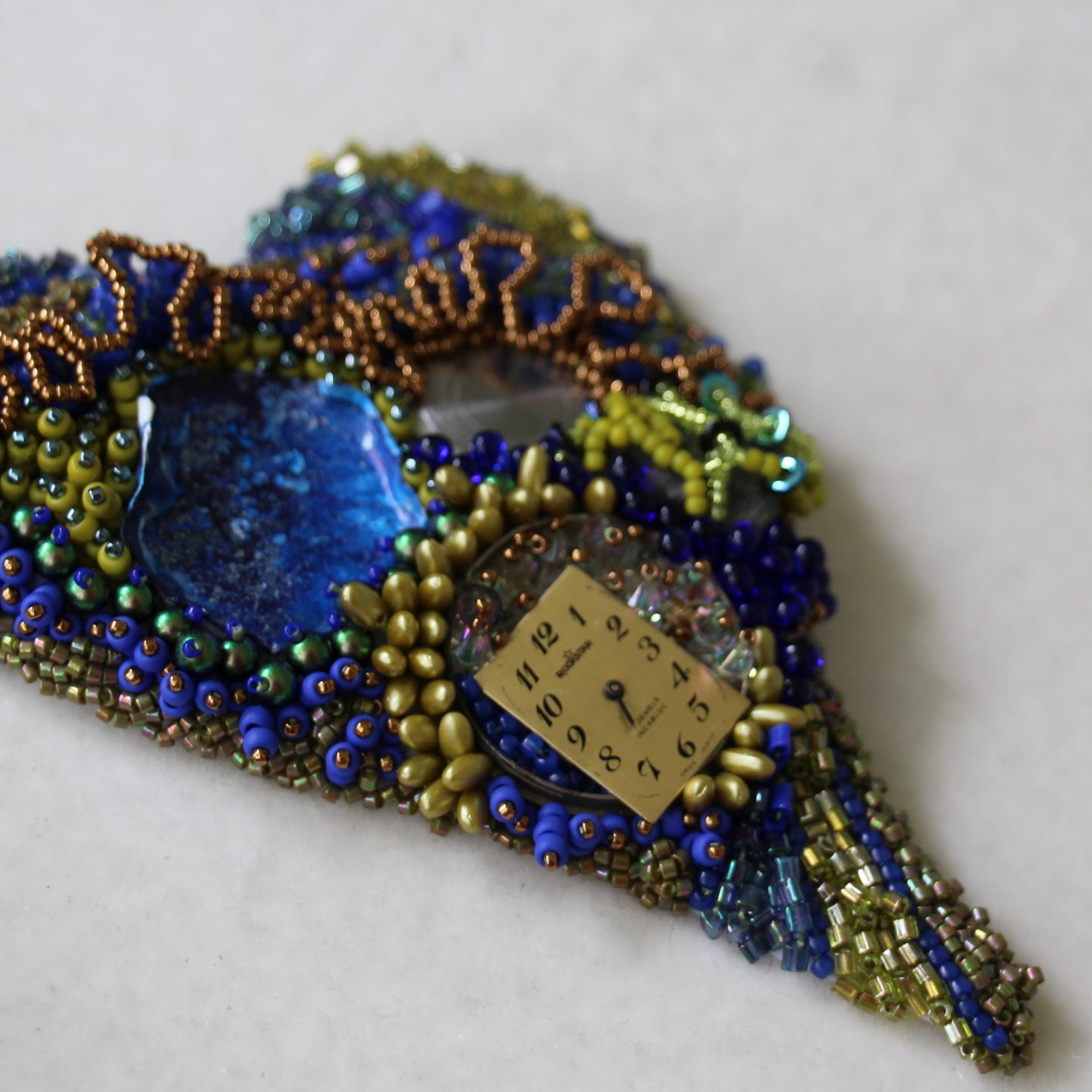 The Freeform Wars!  Peyote Stitch or Intuitive Bead Embroidery?
