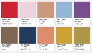 Pantone Fall 2017 Colour Trends