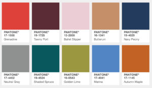 Pantone Fall Colour Trends What Are They Wearing On The