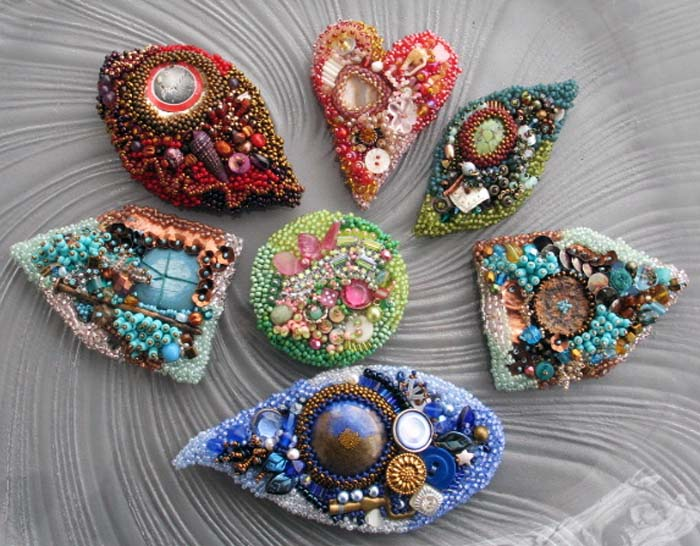 Beading Without a Net: Intuitive Bead Embroidery