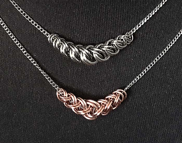 Easy Slider Chainmaille Pendant